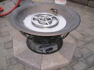 FPPK propane burner install ... - Clean Burning Outdoor Firepits. Propane Burner Authority And Expert