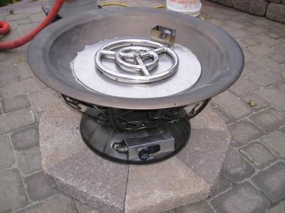 fppk propane burner install