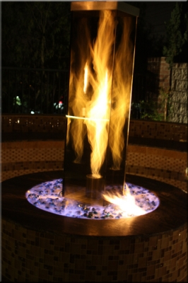 Water Spots On Windshield >> Recreational Vortex fires. fire in a glass box feature ...