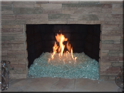 Clear Base Glass For Fireplaces Fire Pits Or Fire Tables