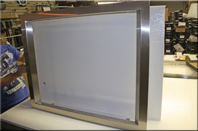 Flat Stainless Steel Surround