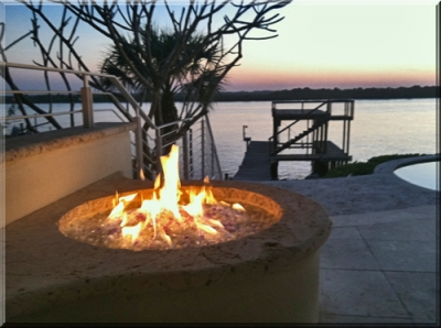 Sammy Vaughn Fireplace and Fire Pit