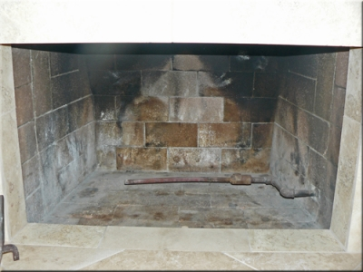 Jeff Minton fireplace