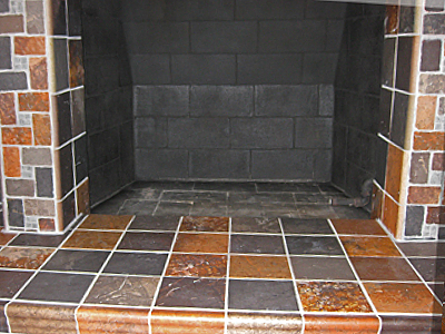 fireplace conversion to fireglass fireplace