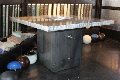 Various Custom Fire Tables Projects