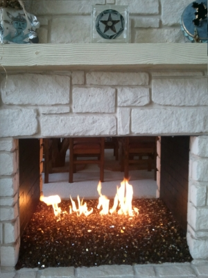 fire and ice fireplace