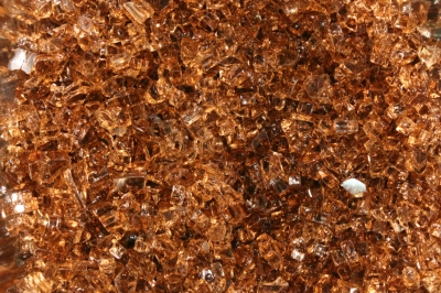 bronze rust copper fireglass