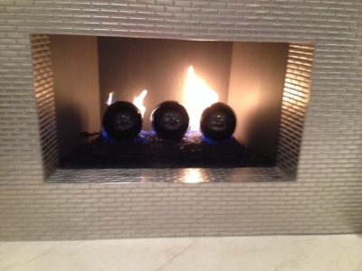 Large decorative fireballs for your fireglass fireplace fire pits ...