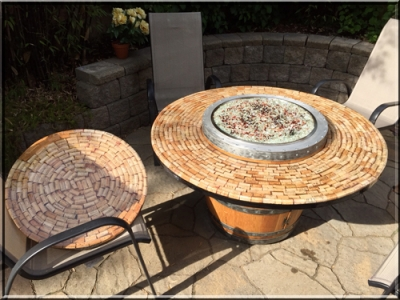 Shaun Ibe Wine Barrel Fire Pit - Convert A Wine Barrel Into A Safe Outdoor Firepit.