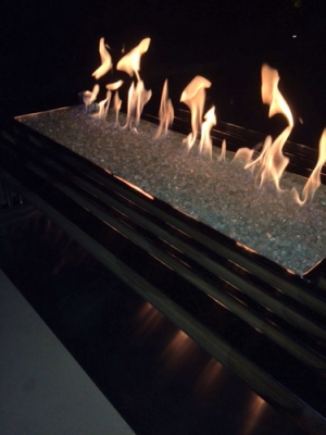 Colleen Clark Fire Table