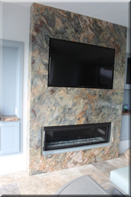 Dr Micheal Marshall fireplace surround