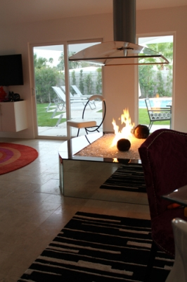 Palm Springs Indoor Fire Pit