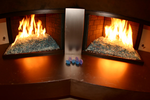 kathy Griffins fireglass fireplace designs