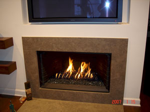 Custom metal fire rings for fireplaces and fire-tables with our ...