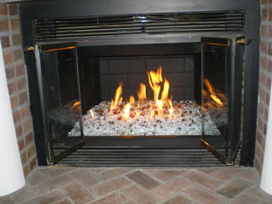 Fire Glass Ice and Fire for fireplaces and fire pits, Fireglass ...