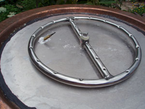 custom metal fire ring for fire pits