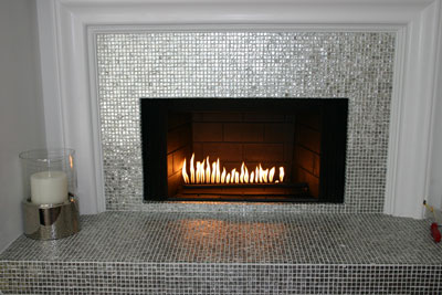 Fireplace surrounds for the Kathy Griffin Christmas Project. Easy ...