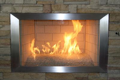 Moderustic creators of Fireplace Glass, Aquatic Glassel for Fire ...