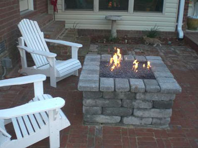Clean burning outdoor firepits propane burner authority and expert the fire pit below belongs to mike devito in northern california when i saw his idea i was excited to help him he took an old mining cart and converted it solutioingenieria Images
