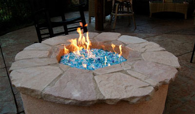 fire pit 1 - Fireplace Glass, Fire Pit Design, Fireplace Pictures, Glass And Ice