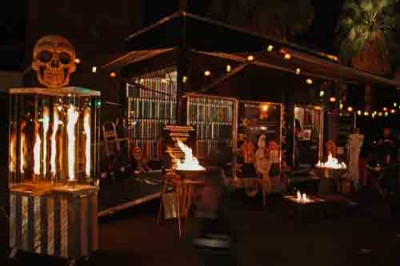 firepits glassfire showroom trailer