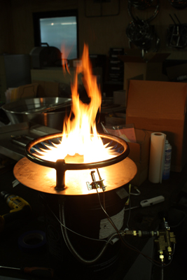 custom centerless burner ring