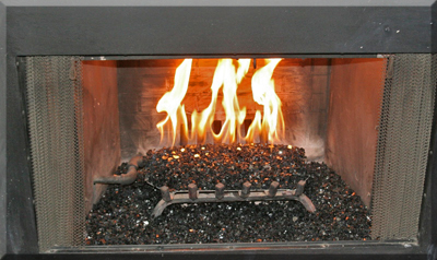 see how not to use fireglass with propane fire pits.  Fireglass has turned black? Find out why.