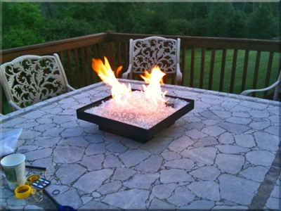 RV FIRE PIT 3, Scott Sanders Pit 1 - Smokeless Portable Propane Fire Pit Perfect For RV Camping