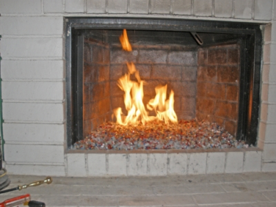 Crap Fireplace Glass 4