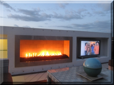 Mark Cotter Fireplace 1 - Picures Of Outdoor Natural Gas Propane Fireplaces With Fireglass