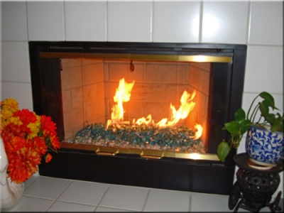 large chunky fireglass pieces for fireplaces fire tables.