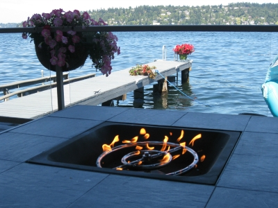 Convert Outdoor Tables Into Fire Tables Propane Or