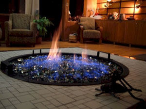 Indoor Fire Pits With Fire Glass Clean Burning Indoor