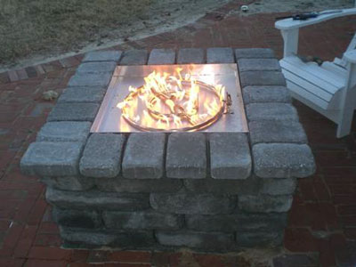 How To Convert A Propane Fire Pit To Natural Gas
