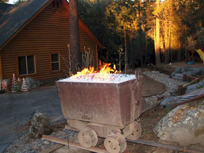 Custom Size Propane Burner Pan For Fire Pits Fireplaces