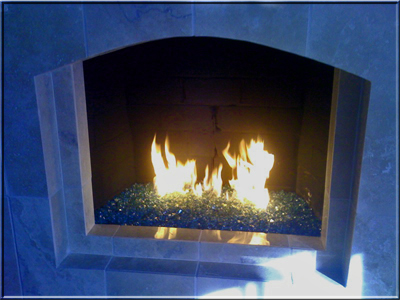 What Is A Fire And Glass Fireplace How Does Fire Glass